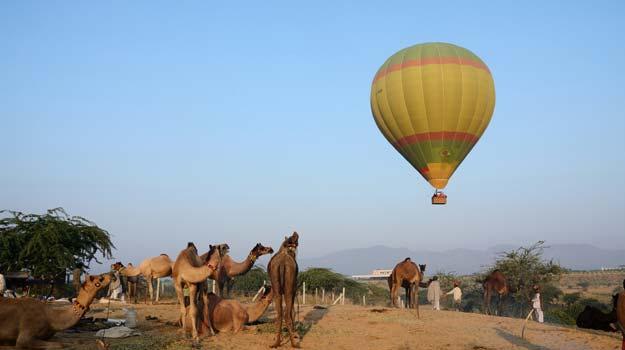 Pushkar-hot-air-ballooning