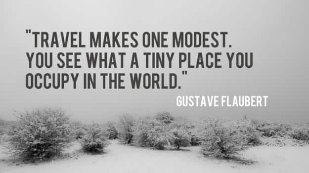Travel-makes-one-modest