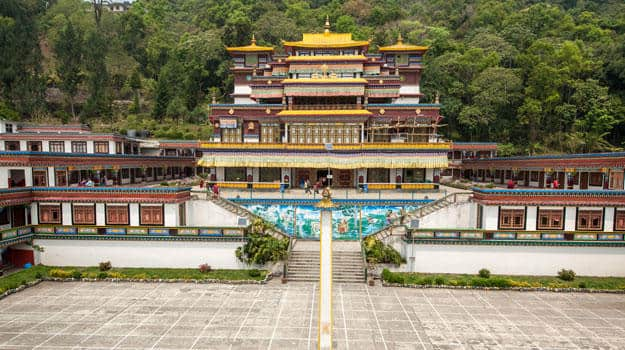 Sikkim_Gangtok_Ranka-(Lingdum-or-Pal-Zurmang-Kagyud)-Monastery-in-Gangtok