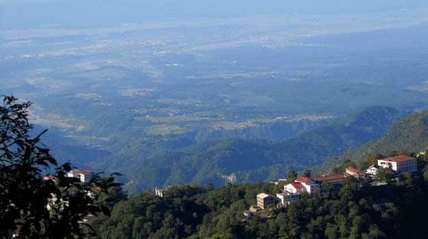 Doon-valley-from-Landour,-Dehradun,-India