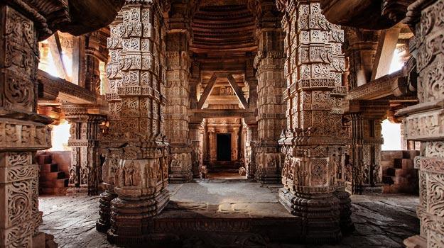 Sas Bahu Temple in Gwalior