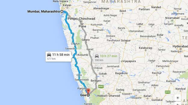bike Mumbai-Goa