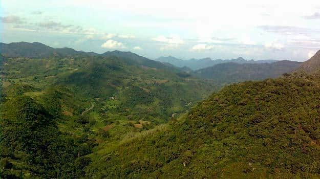 View of Araku Valley
