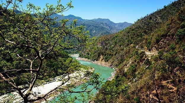 Glimpses of the glorious River Ganga flowing through ...