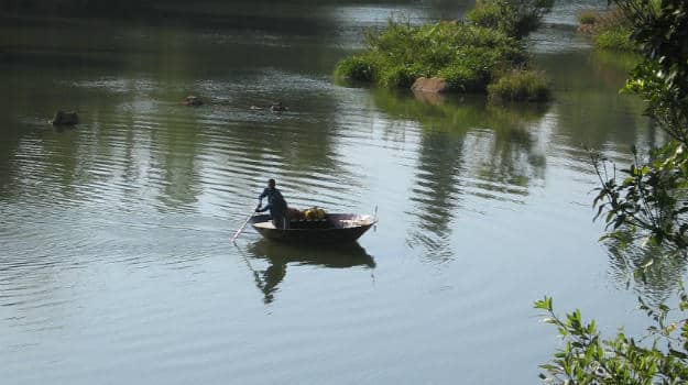 River_boat_Coorg