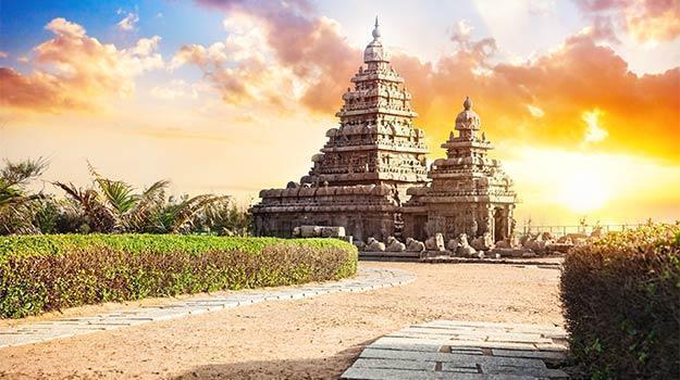 Image result for The Shore Temple, Mahabalipuram, Tamil Nadu