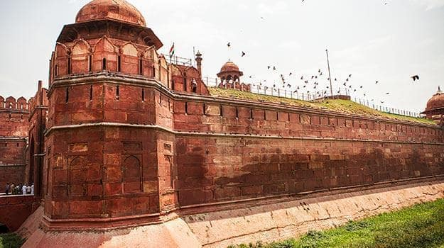 Red Fort, where Indian Independence Day celebrations are held
