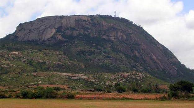 Image result for Savandurga Hills