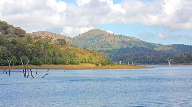 5-Kerala_Thekkady_Periyar-National-Park_Lake-at-Periyar