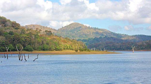 5-Kerala_Thekkady_Periyar-National-Park_Lake-at-Periyar