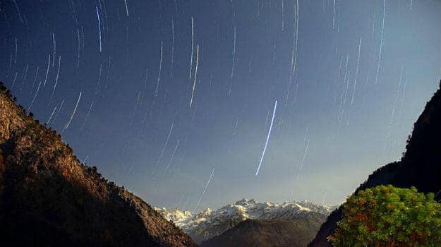 The sky of Malana