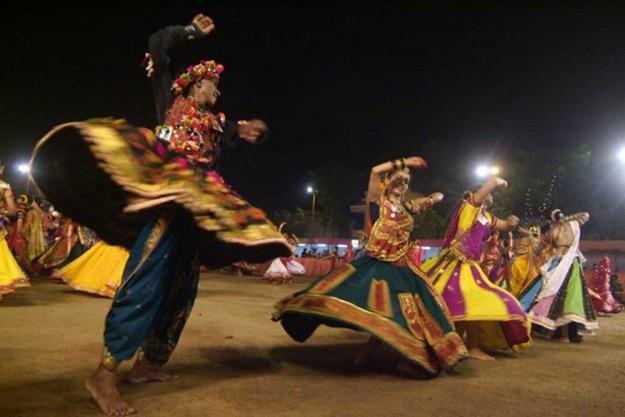 Navratri Garba performance