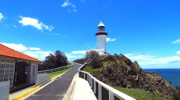 light house, byron bay