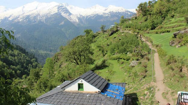 Tosh village, Parvati Valley