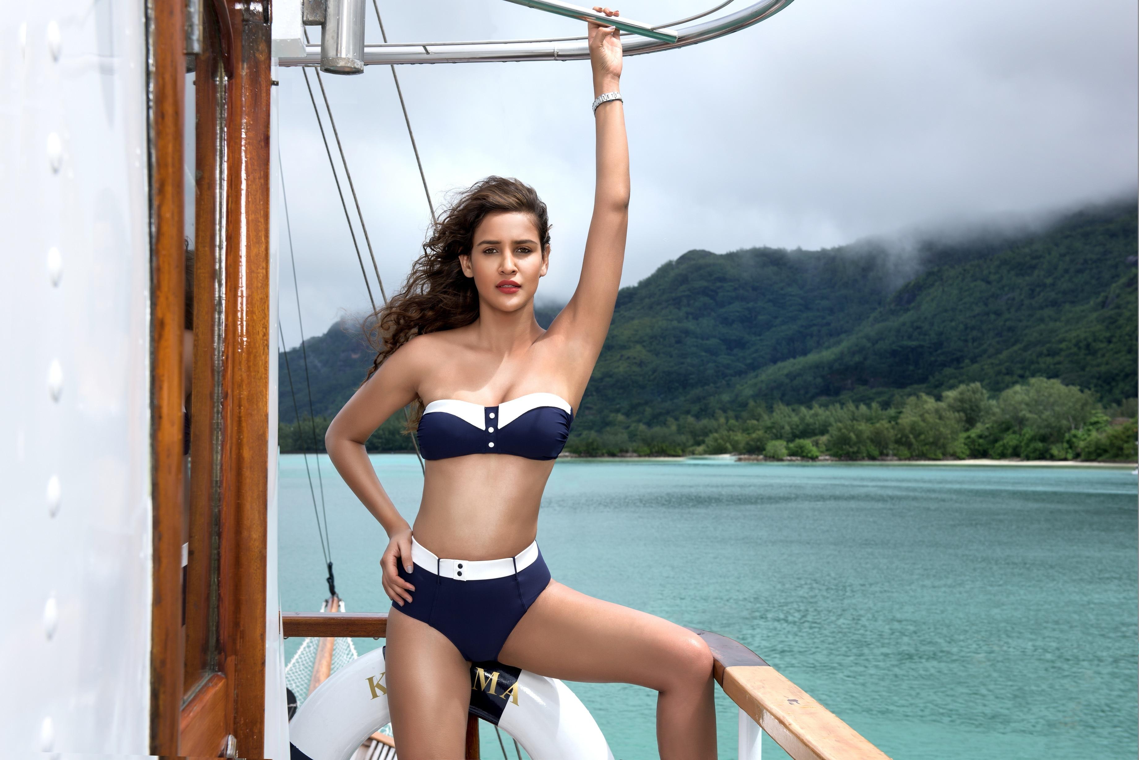 King fisher indian bikini