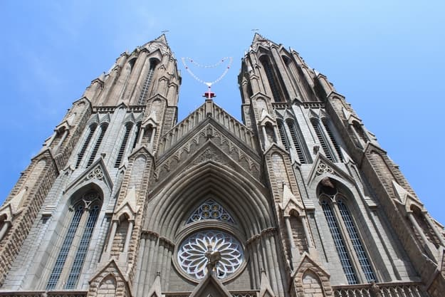St Philomena's church is a Catholic church built in honour of St Philomena in the Diocese of Mysore