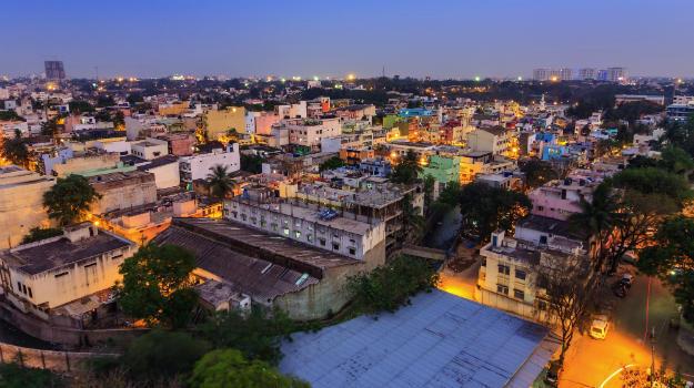 Bangalore - an aerial view