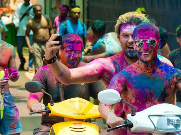 Goa_bike-holi