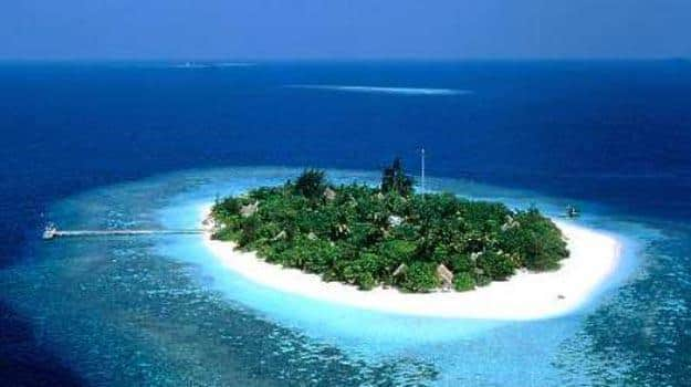 Minicoy Island in Lakshadweep