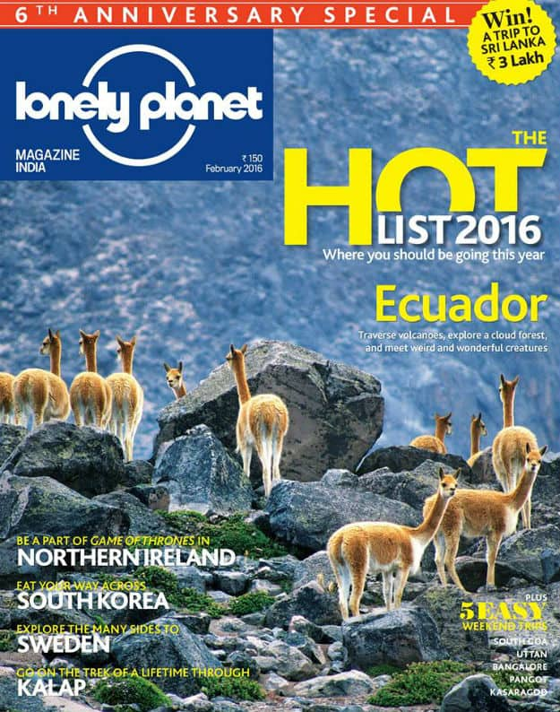 Image: Lonely Planet India Facebook page