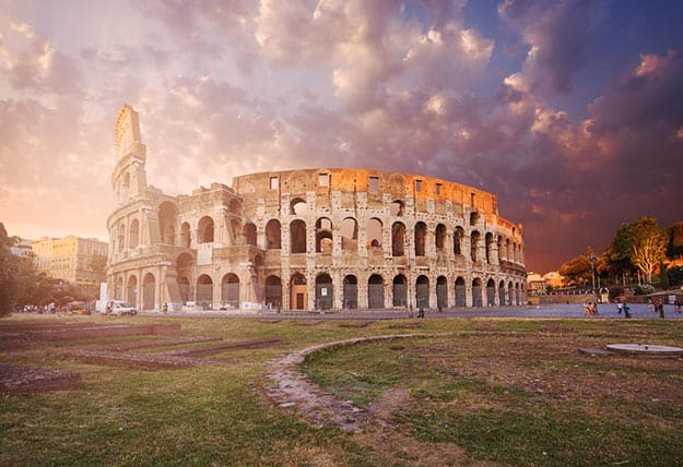 Another view of the Colosseum