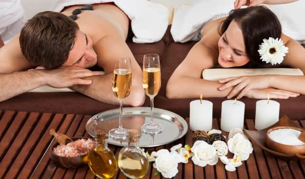 Image result for Pampering Couples Spa