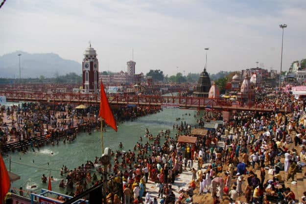 Haridwar, Photograph courtesy: Wikimedia Commons