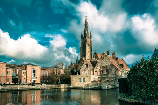 Old St Johns Hospital and the Church of Our Lady in Bruges