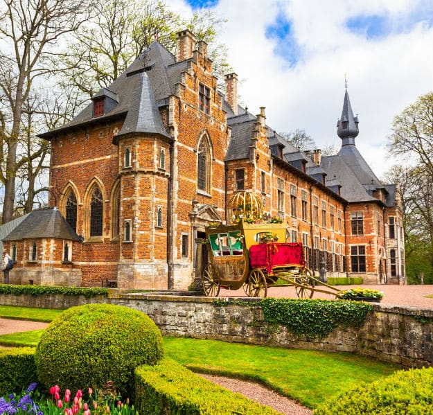 Groot-Bijgaarden with famous gardens