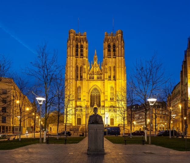 Belgium2-cathedral of st michael and st gudula