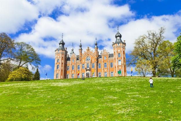 De Viron castle in Dilbeek