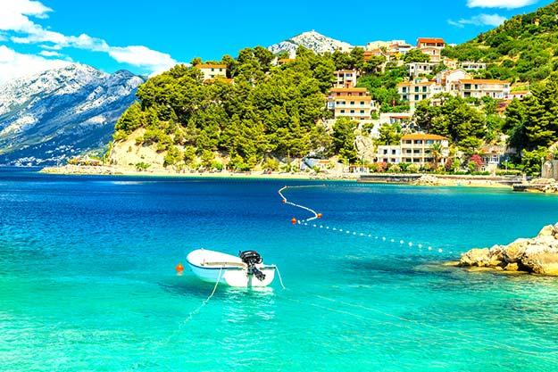 Croatia-Brela-beach-Dalmatia