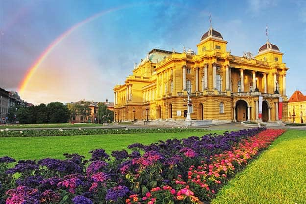 Croatia-Croatian-National-Theater-Zagreb