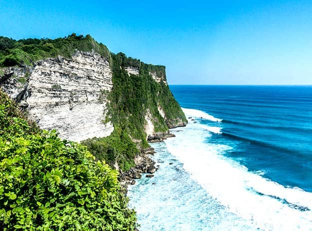 High Cliff at Uluwatu Temple-Bali-shutterstock_365996759