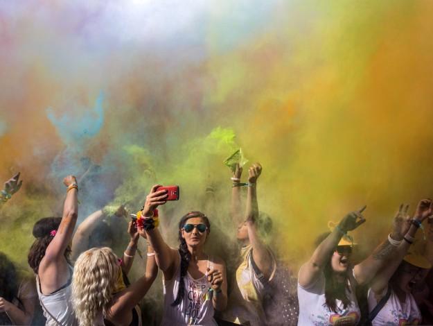 Holi party Bangalore 2