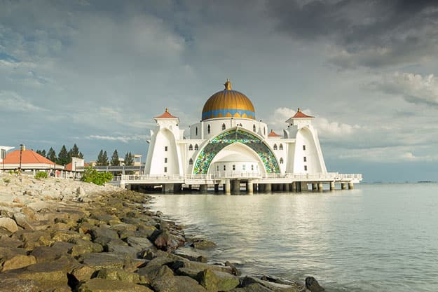 Strait-Mosque-of-Malacca
