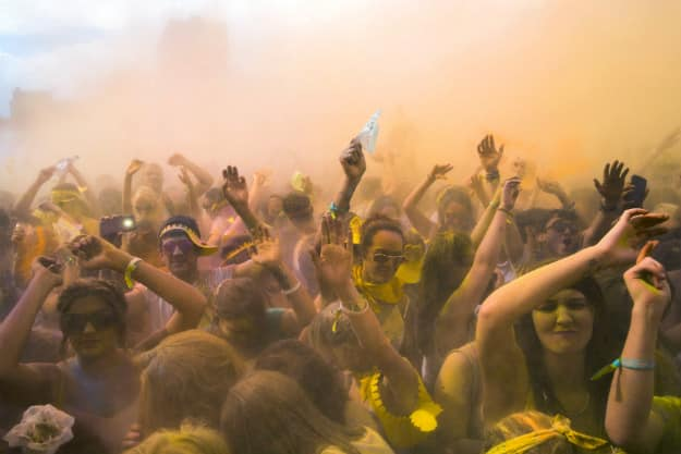 holi parties in pune