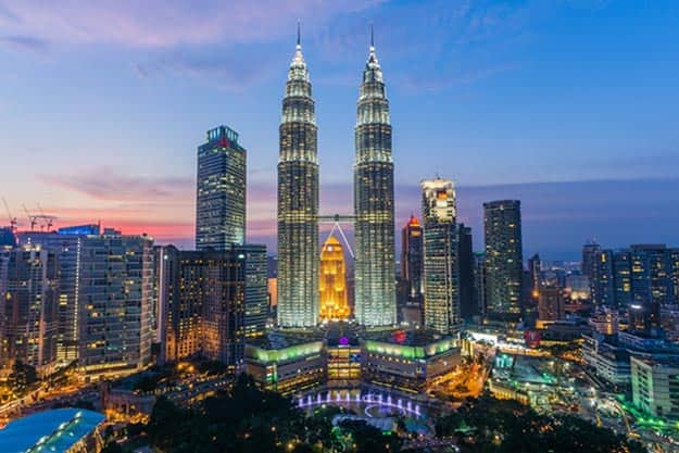 petronas-towers-at-sunset-shutterstock_373172968