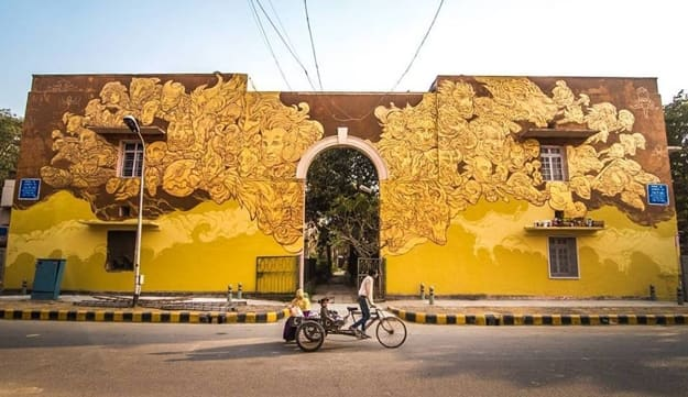 15 Photos Of How St Art India Turned Delhi S Lodhi Colony
