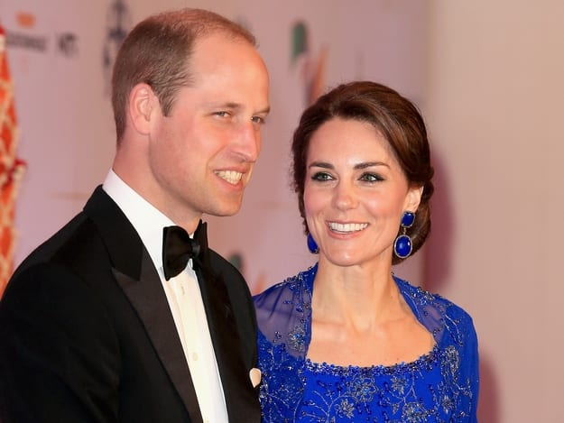 Kate and William in Mumbai