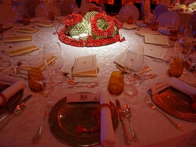 Royal dinner menu for Kate Middleton and Prince William in Mumbai, India