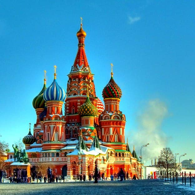 Summer Vacation Packages: 5-day Majestic Russia Tour By