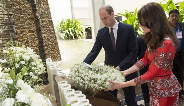 prince william and kate in mumbai
