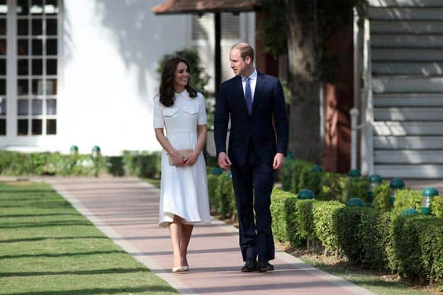 prince william and kate in delhi