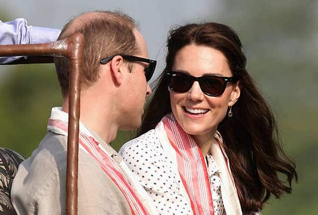 Will and Kate in Assam