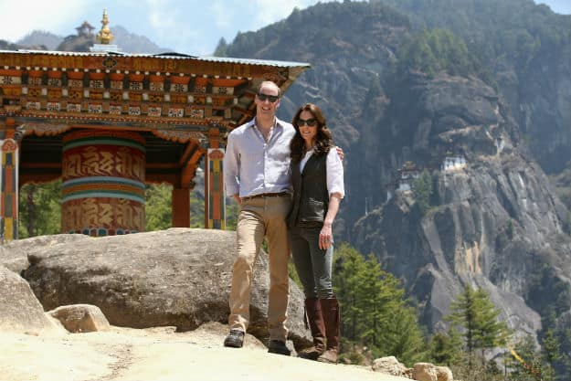 Kate and Will Tigers Nest 6