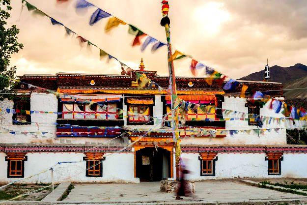 Ladakh Sani Monastery