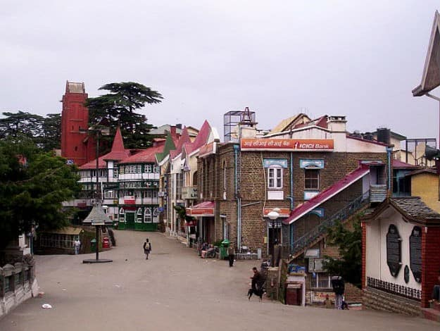 Shimla-Scandal-point-Mall-Road