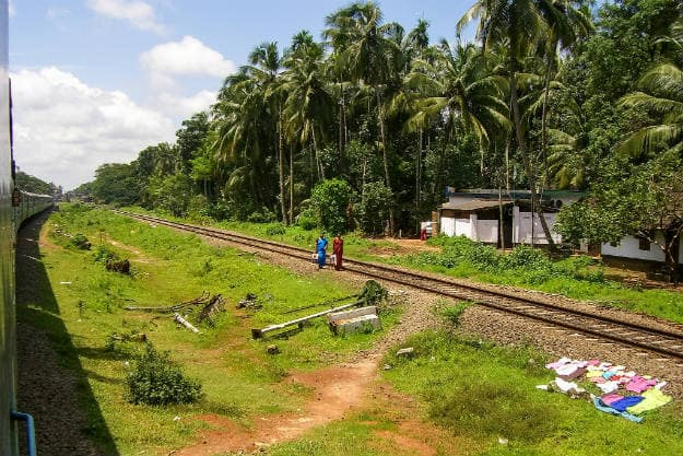 Train in Kerala