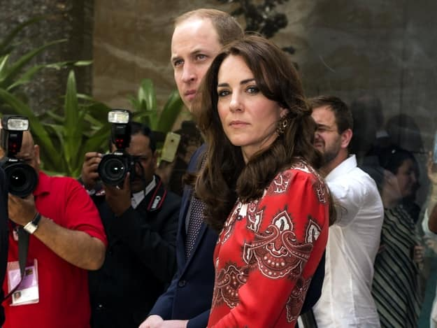 Prince william and Kate Middleton in India